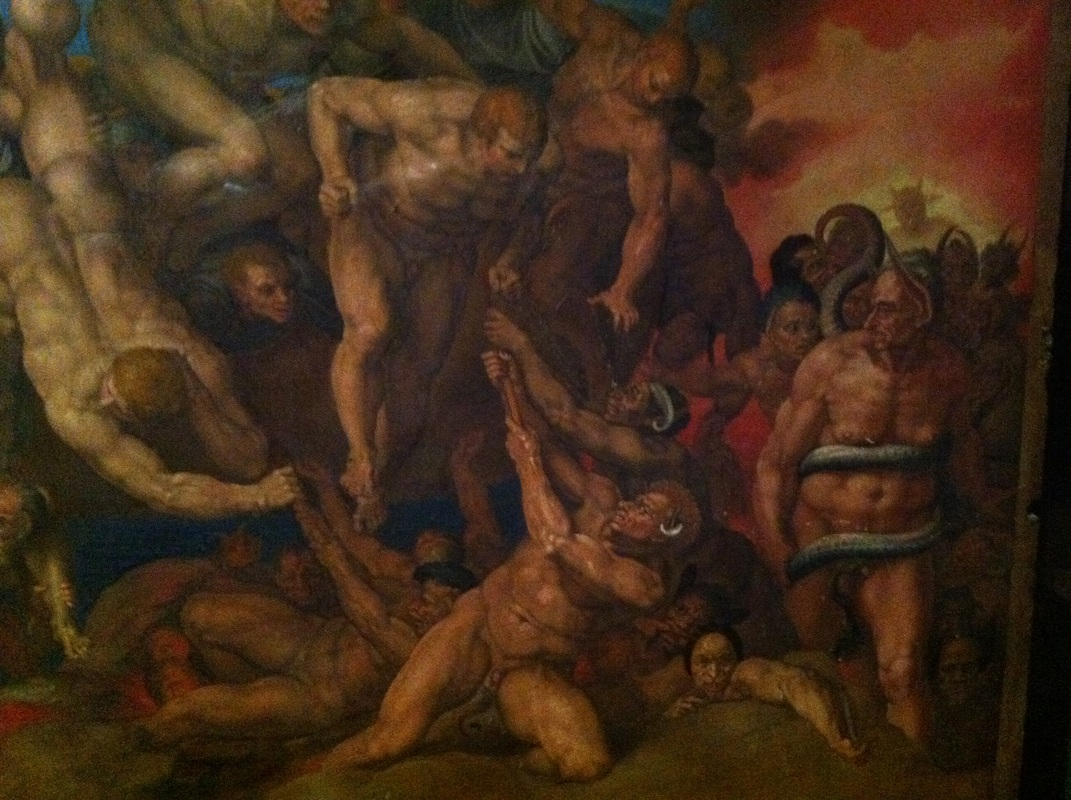 the religious issues in europe in the last judgement by michelangelo The painting, last judgment depicts the ending of the world where the judgment is going to be held in front of the christ this artwork portrays the excellence of in the medieval times figures were dressed according to their positions however, michelangelo introduced a new groundbreaking concept where.
